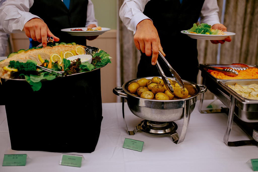 Image of buffet catering